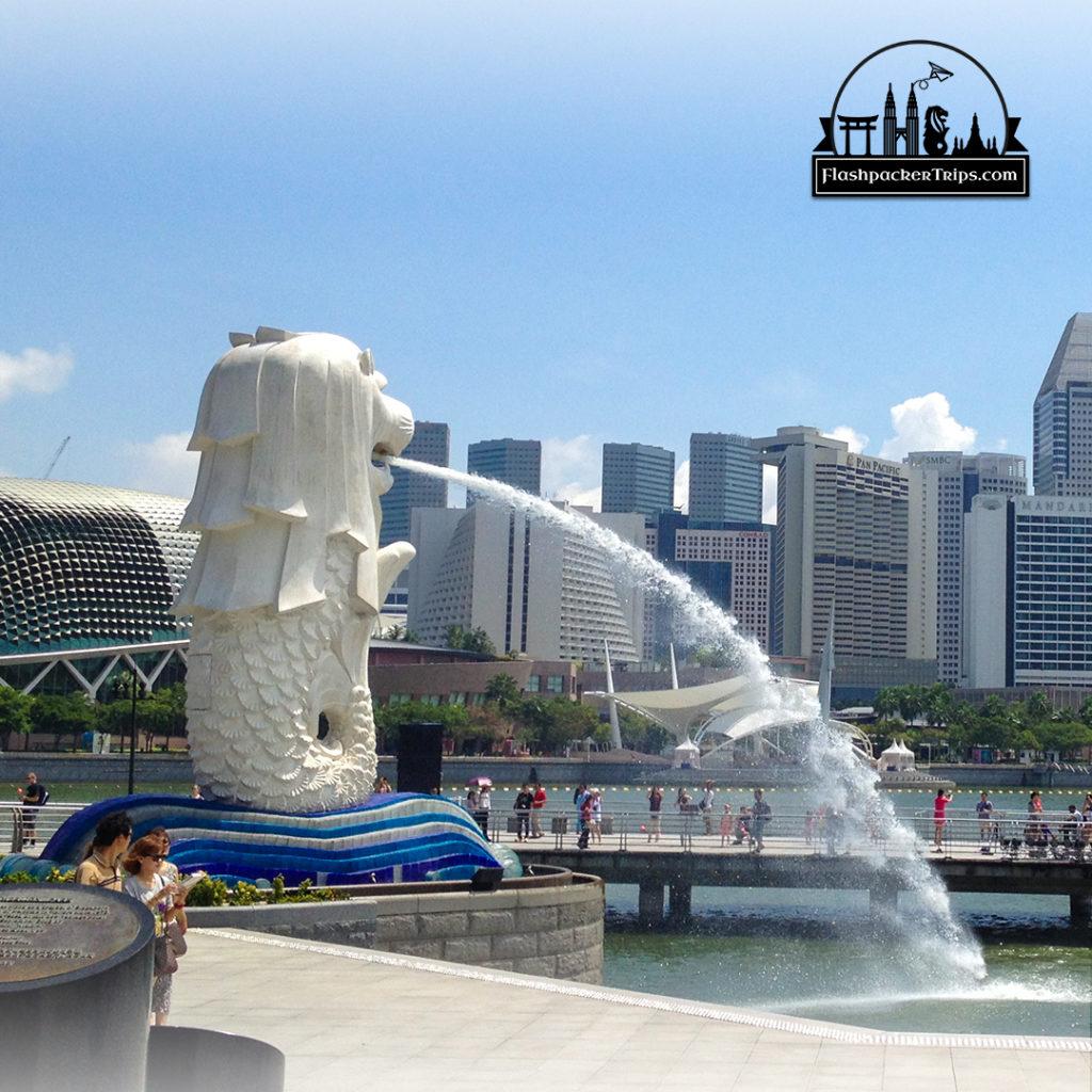 merlion-singapura-flashpacker-trips