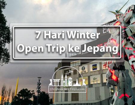 7 Hari Winter Open Trip ke Jepang (Paket Hemat)